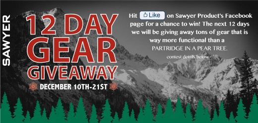 12 DAY GEAR GIVEAWAY